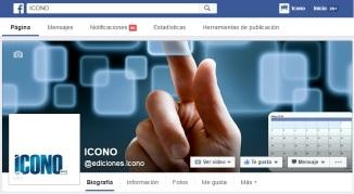 Facebook Ediciones ICONO